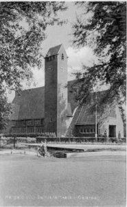 bethlehemkerk 1950 zijaanzicht