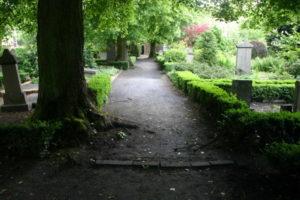 Plaats waar de Kapel stond, begraafplaats aan de Bornsetraat