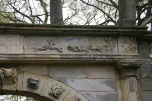 detail poort Huis Hengelo